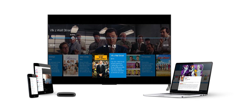 Aplikace SledovaniTV je dostupná pro všechny běžné platformy. Stáhněte si aplikaci SledovaniTV do vašeho Smart TV. Pro všechny, kdo nemají Smart TV, jsme vyvinuli set-top box Sledovani.tv