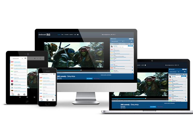 Aplikace SledovaniTV je dostupná pro všechny běžné platformy