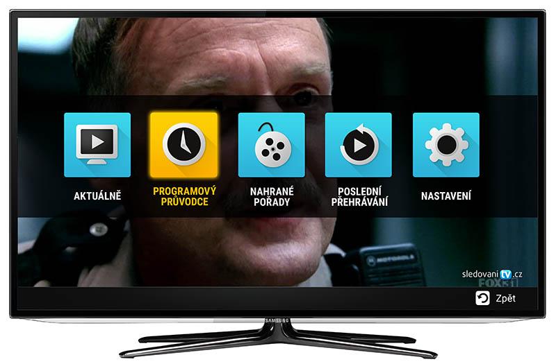 Stáhněte si aplikaci SledovaniTV do vašeho Smart TV