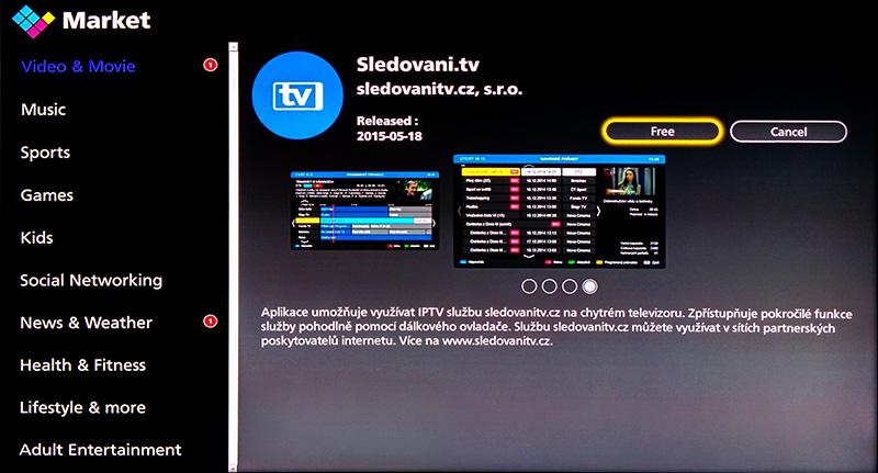 Aplikace pro Panasonic Smart TV | SledovaniTV cz