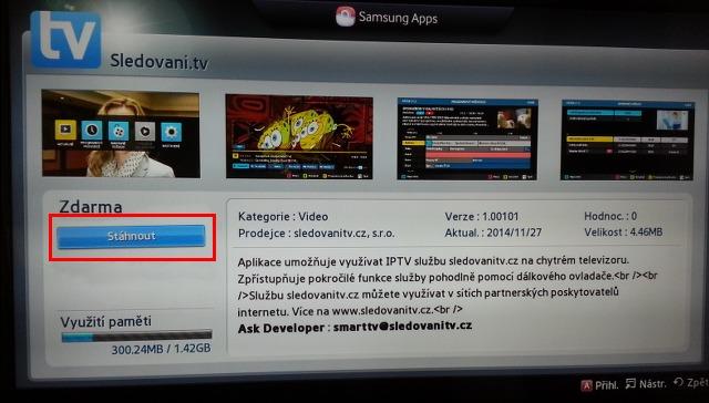 430e4d065 Aplikace pro Samsung Smart TV | SledovaniTV.cz
