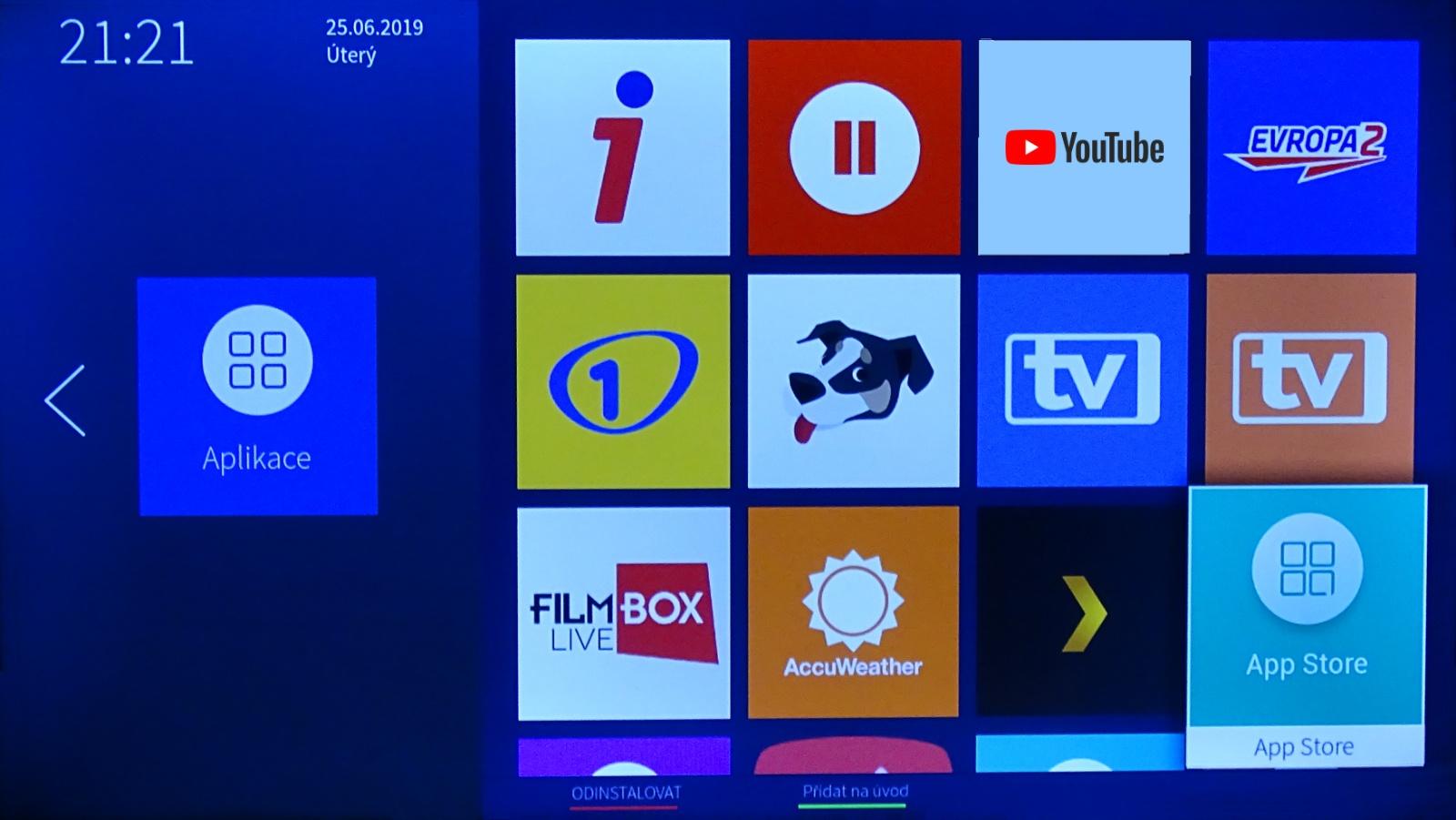 Jak spustit vysílání přes internet na televizi Hisense