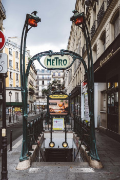 Pařížské metro