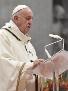 Mše svatá s papežem Františkem v Šaštíně