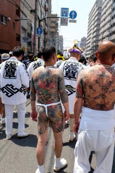 Japonské slavnosti (Džindžin - vzývání božstva moře)